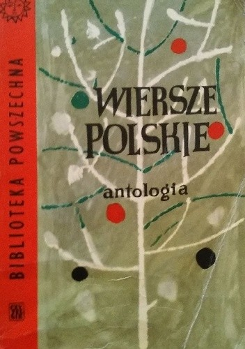 Okładka książki Wiersze polskie. Antologia