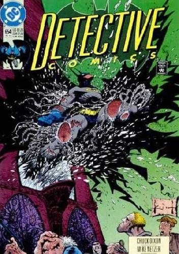 Okładka książki Batman: Detective Comics #654