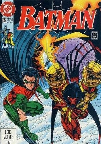 Okładka książki Batman #488