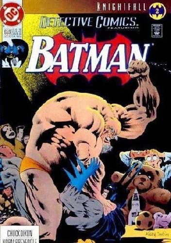 Okładka książki Detective Comics #659