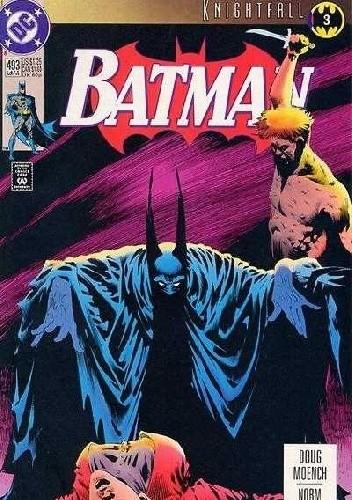 Okładka książki Batman #493