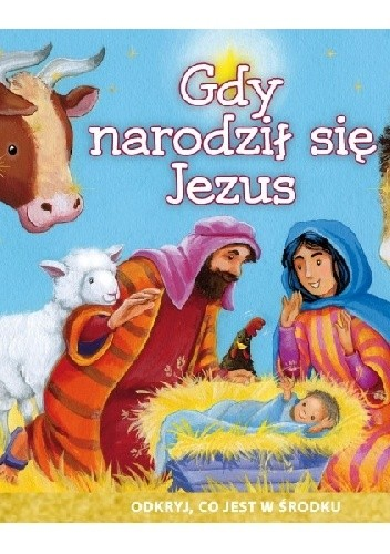 Okładka książki Gdy narodził się Jezus
