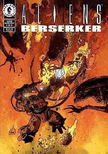 Okładka książki Aliens: Berserker #4