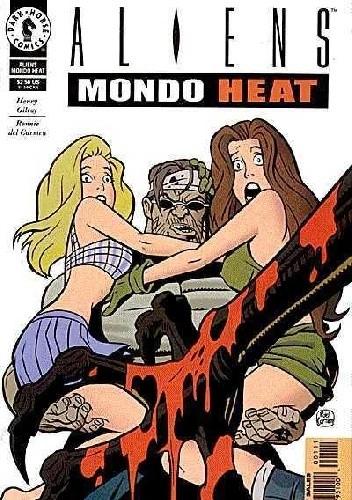 Okładka książki Aliens: Mondo Heat