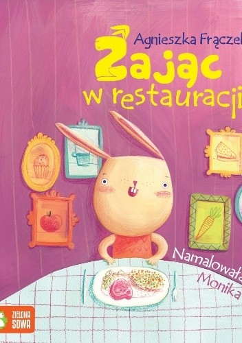 Okładka książki Zając w restauracji