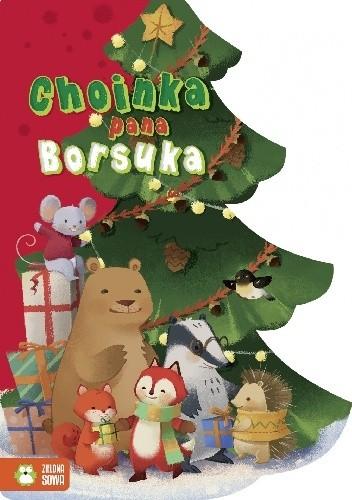 Okładka książki Choinka pana borsuka