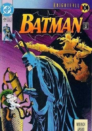 Okładka książki Batman #494