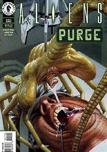 Okładka książki Aliens: Purge