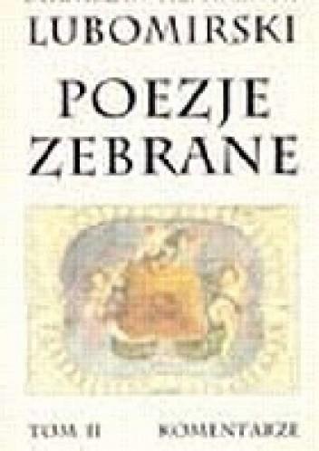 Okładka książki Poezje zebrane