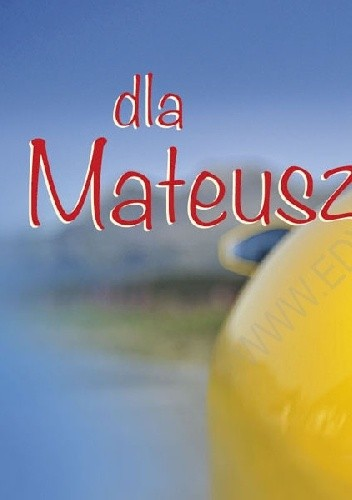 Okładka książki Dla Mateusza
