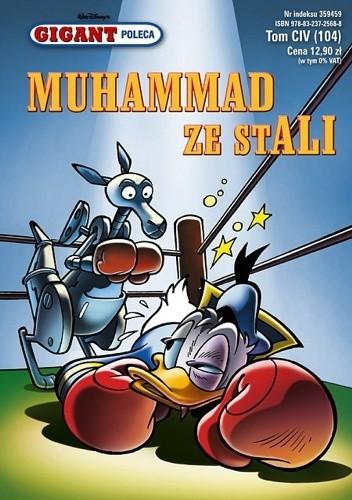 Okładka książki Gigant 4/2009: Muhammad ze stali