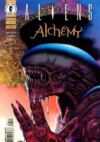 Okładka książki Aliens: Alchemy #1