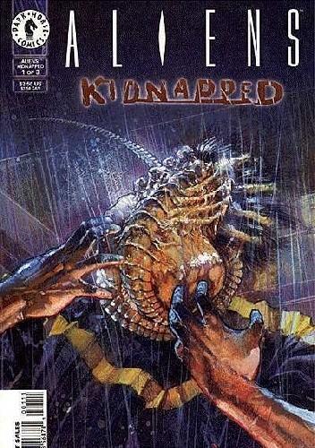 Okładka książki Aliens: Kidnapped #1