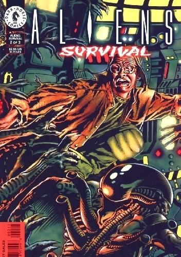 Okładka książki Aliens: Survival #2