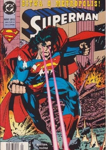 Okładka książki Superman 8/1997
