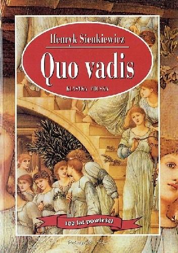 Okładka książki Quo vadis
