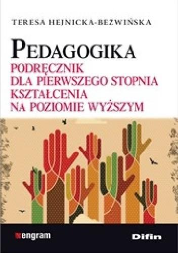 Okładka książki Pedagogika. Podręcznik dla pierwszego stopnia kształcenia na poziomie wyższym