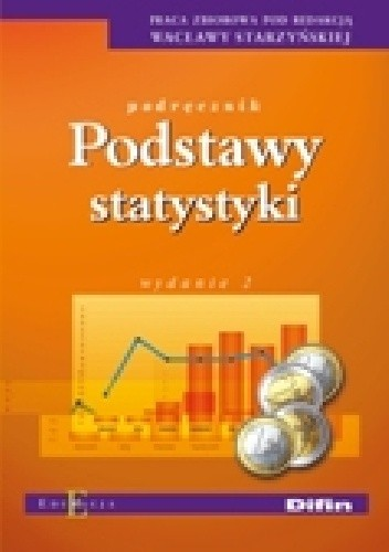 Okładka książki Podstawy statystyki