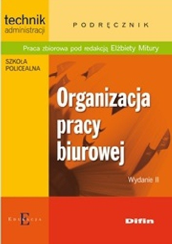 Okładka książki Organizacja pracy biurowej