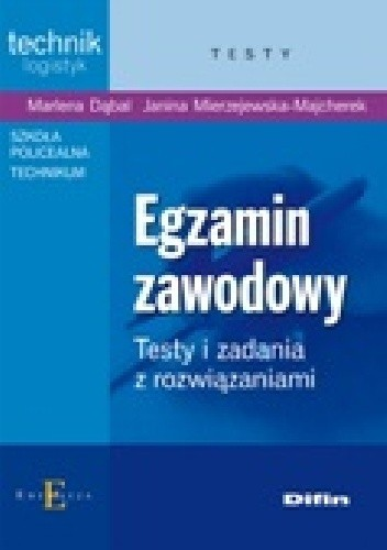 Okładka książki Egzamin zawodowy. Testy i zadania z rozwiązaniami