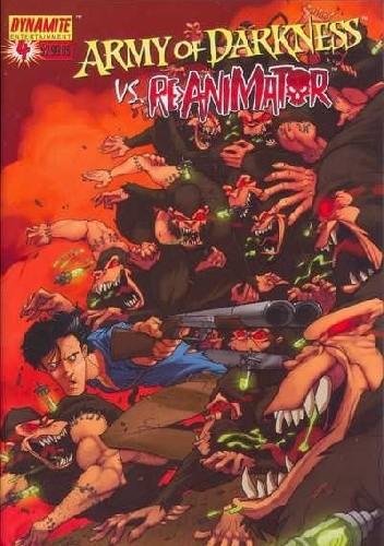 Okładka książki Army of Darkness vs. Re-Animator #4