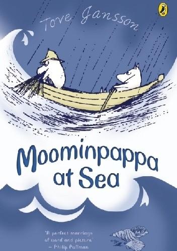 Okładka książki Moominpappa at Sea