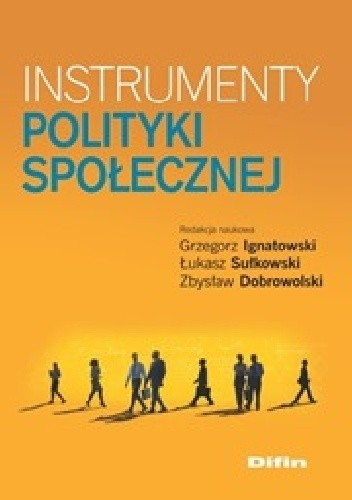 Okładka książki Instrumenty polityki społecznej