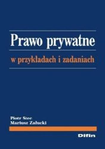 Okładka książki Prawo prywatne w przykładach i zadaniach