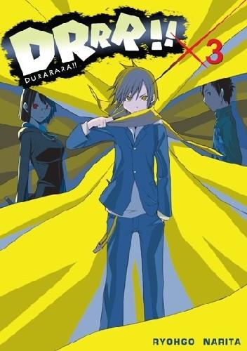 Okładka książki DRRR!! #3 (novel)