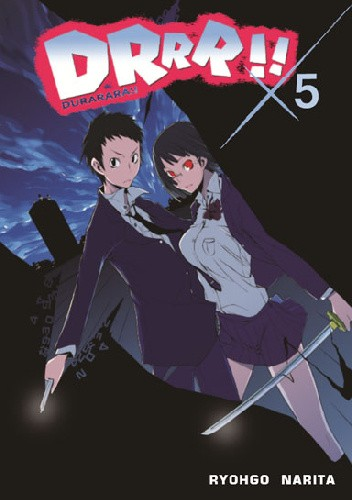 Okładka książki DRRR!! #5 (novel)