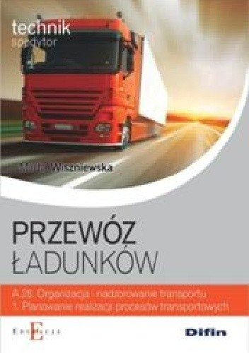Okładka książki Przewóz ładunków