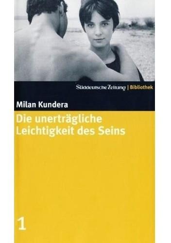 Okładka książki Die unerträgliche Leichtigkeit des Seins