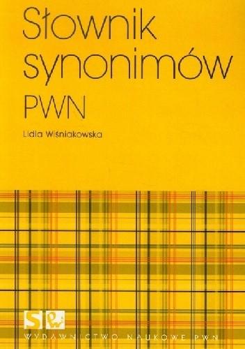 Okładka książki Słownik synonimów pwn
