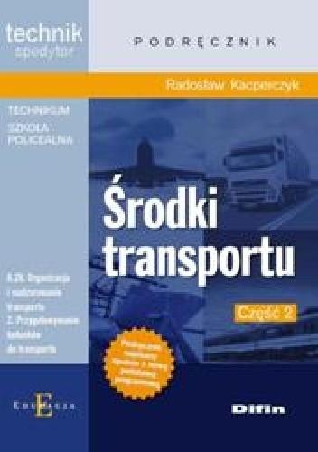 Okładka książki Środki transportu. Część 2