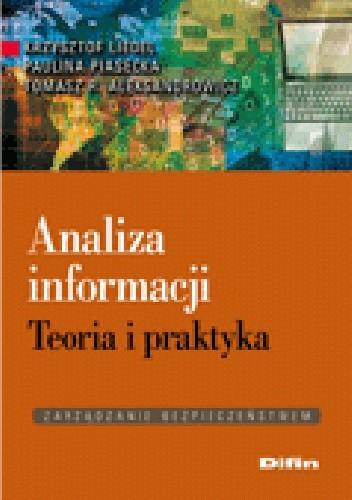 Okładka książki Analiza informacji. Teoria i praktyka