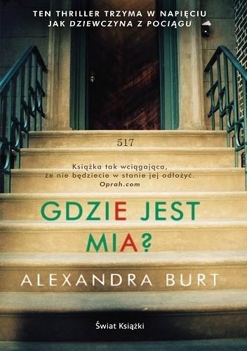 Okładka książki Gdzie jest Mia?