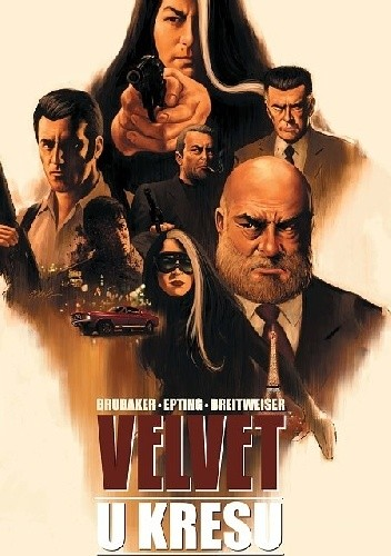 Okładka książki Velvet #1 - U kresu