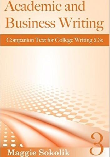 Okładka książki Academic and Business Writing, Workbook 3