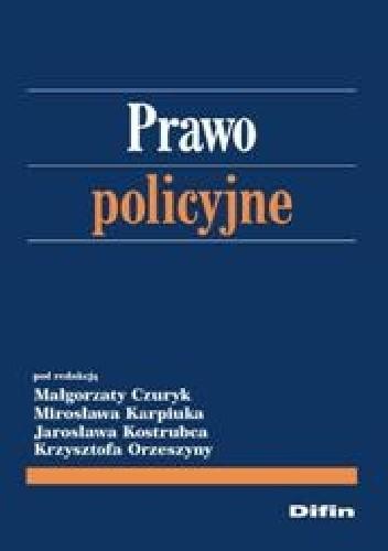 Okładka książki Prawo policyjne