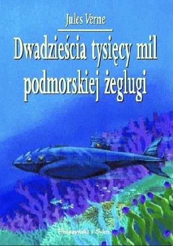 Okładka książki Dwadzieścia tysięcy mil podmorskiej żeglugi