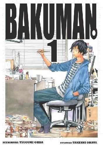 Okładka książki Bakuman #1