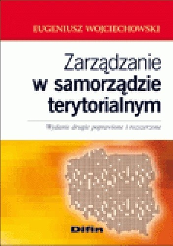 Okładka książki Zarządzanie w samorządzie terytorialnym
