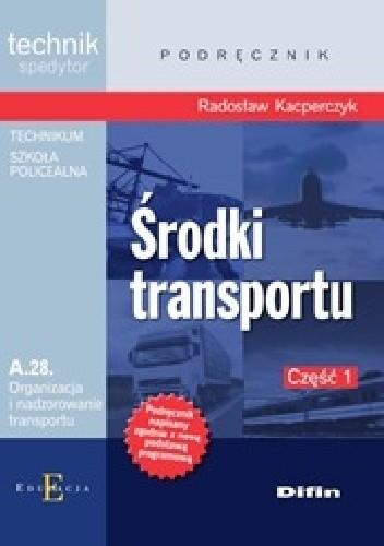 Okładka książki Środki transportu. Część 1
