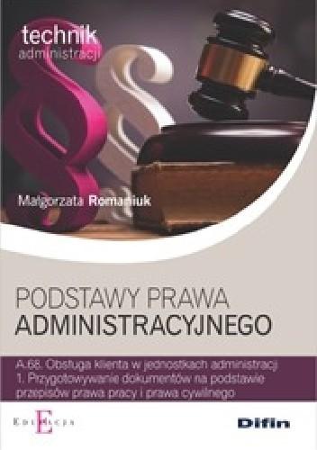 Okładka książki Podstawy prawa administracyjnego