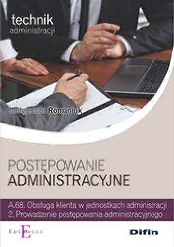 Okładka książki Postępowanie administracyjne