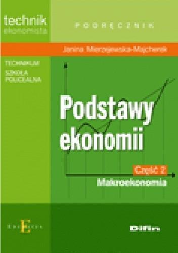 Okładka książki Podstawy ekonomii. Część 2. Makroekonomia