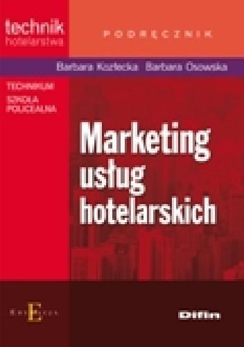 Okładka książki Marketing usług hotelarskich