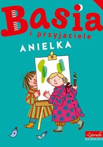Okładka książki Basia i przyjaciele. Anielka