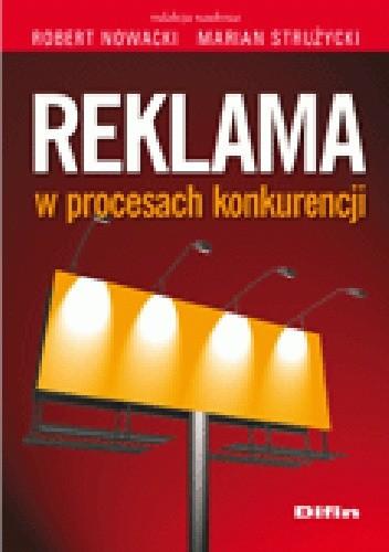 Okładka książki Reklama w procesach konkurencji