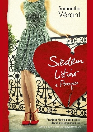 Okładka książki Siedem listów z Paryża